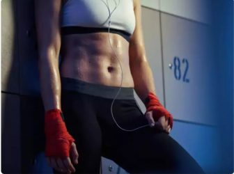 Seven exercises for flat belly