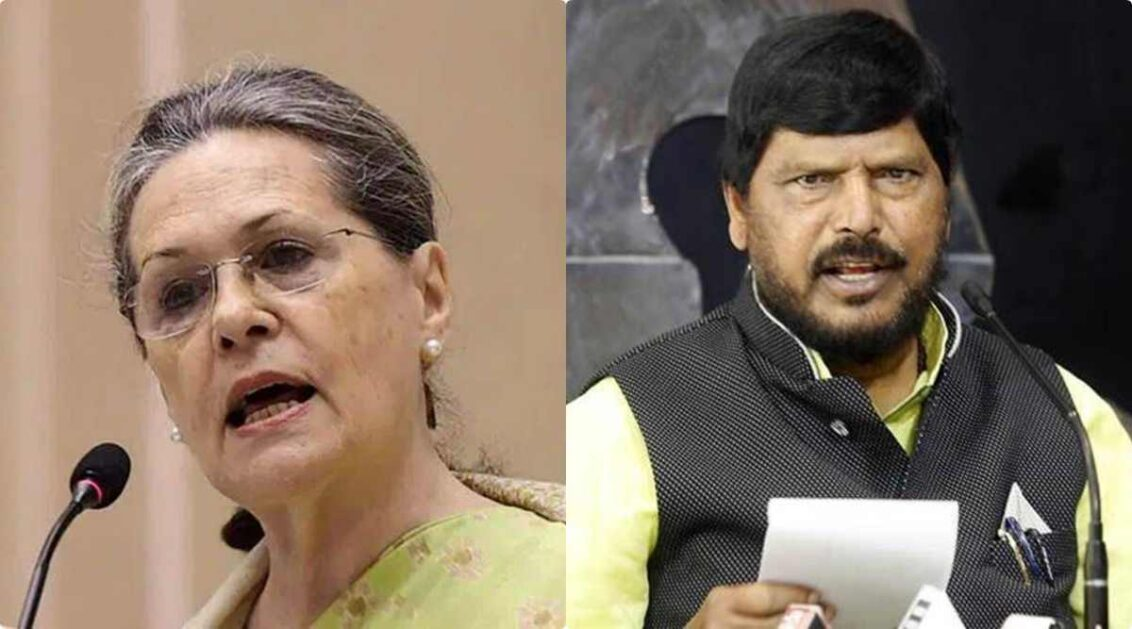 Min R Athawale says, Sonia Gandhi should have chosen Pawar as PM instead of Manmohan Singh in 2004