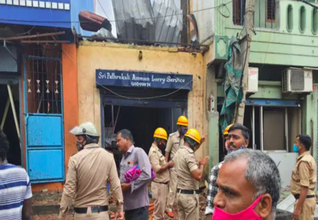 At least 3 dead in Bengaluru godown blast, officials probing cause