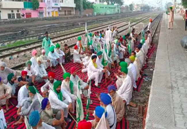 Bharat Bandh: Train services in Delhi, Ambala, Firozpur halted as people sit on tracks
