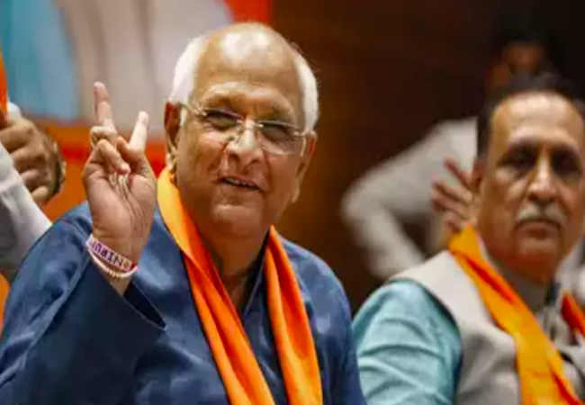 Bhupendra Patel elected as new Gujarat CM; will meet Governor at 5:30 PM