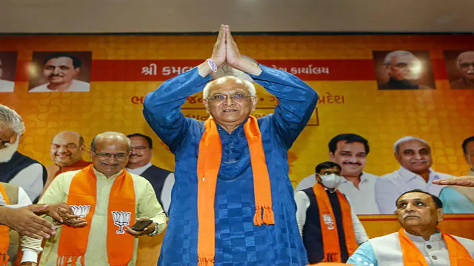 Bhupendra Patel sworn in as the 17th CM of Gujarat today, Amit Shah to attend ceremony