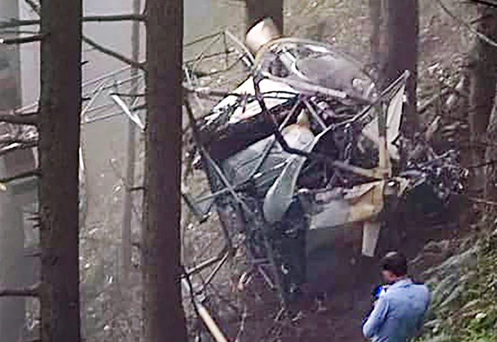 Army chopper crashes in J&K's Udhampur, 2 pilots succumb to injuries: Report