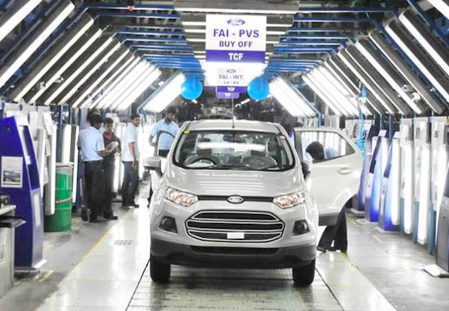 Ford Motor shuts manufacturing plants in India after $2 billion loss