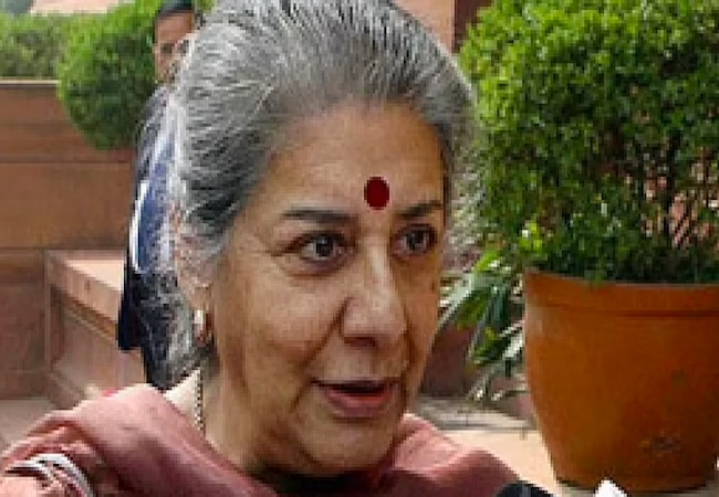 """""""I believe Punjab CM must be a Sikh leader"""": Ambika Soni after rejecting offer"""