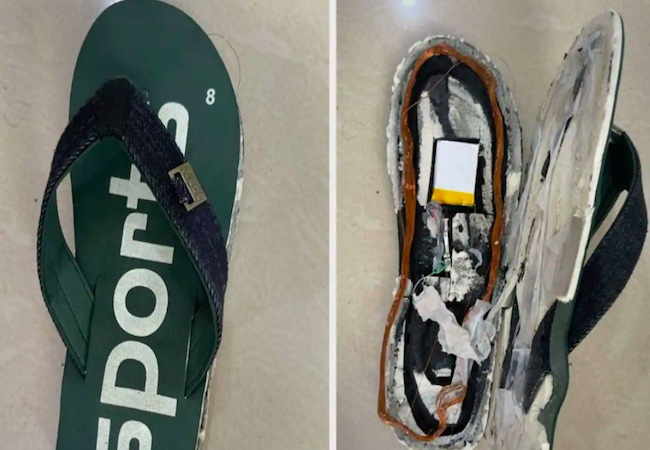 In-built Bluetooth slippers of₹6 lakh each: 5 held for trying to cheat in exam