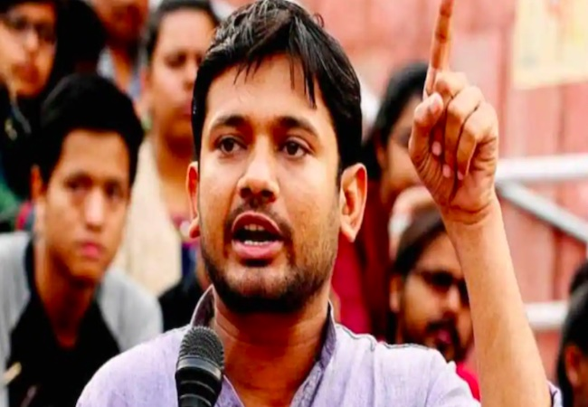 Kanhaiya Kumar removes air conditioner installed by him from CPI office
