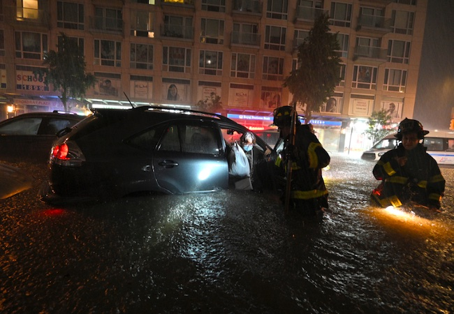 """New York flash floods take as many as 44 lives in """"historic"""" weather event"""