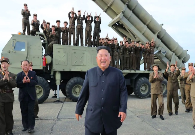 North Korea fires two possible ballistic missile amid standoff nuclear talks