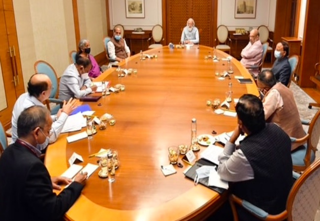 PM meets Rajnath Singh, Amit Shah, Ajit Doval to discuss situation in Afghanistan