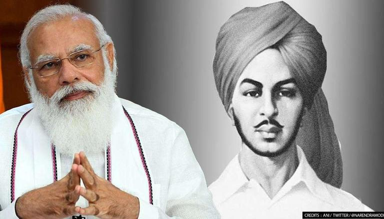 """""""He lives in the heart of every Indian"""": PM Modi's tribute to Bhagat Singh"""