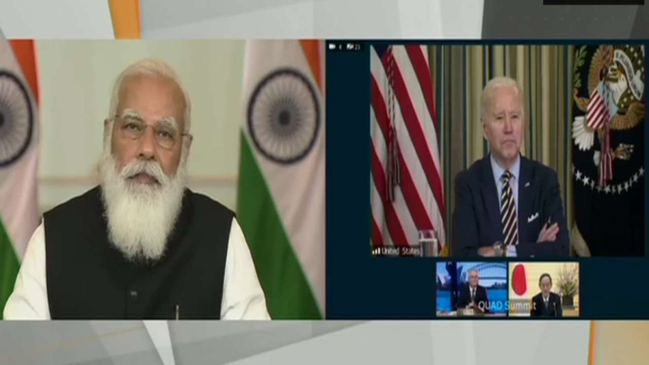 PM Modi to attend the first in-person 'Quad Summit' hosted by US Prez Biden