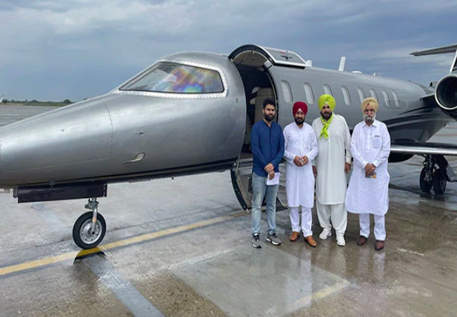 """""""So what if a Poor man takes jet?"""": Punjab CM Channi on Opp criticism"""