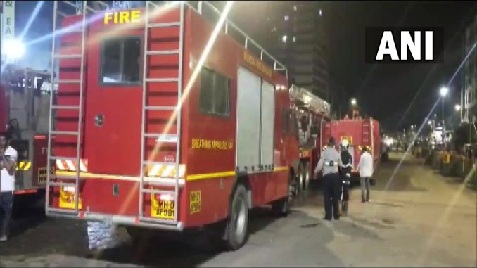 Massive fire breaks out at residential society in Mumbai's Kurla, over 20 bikes gutted
