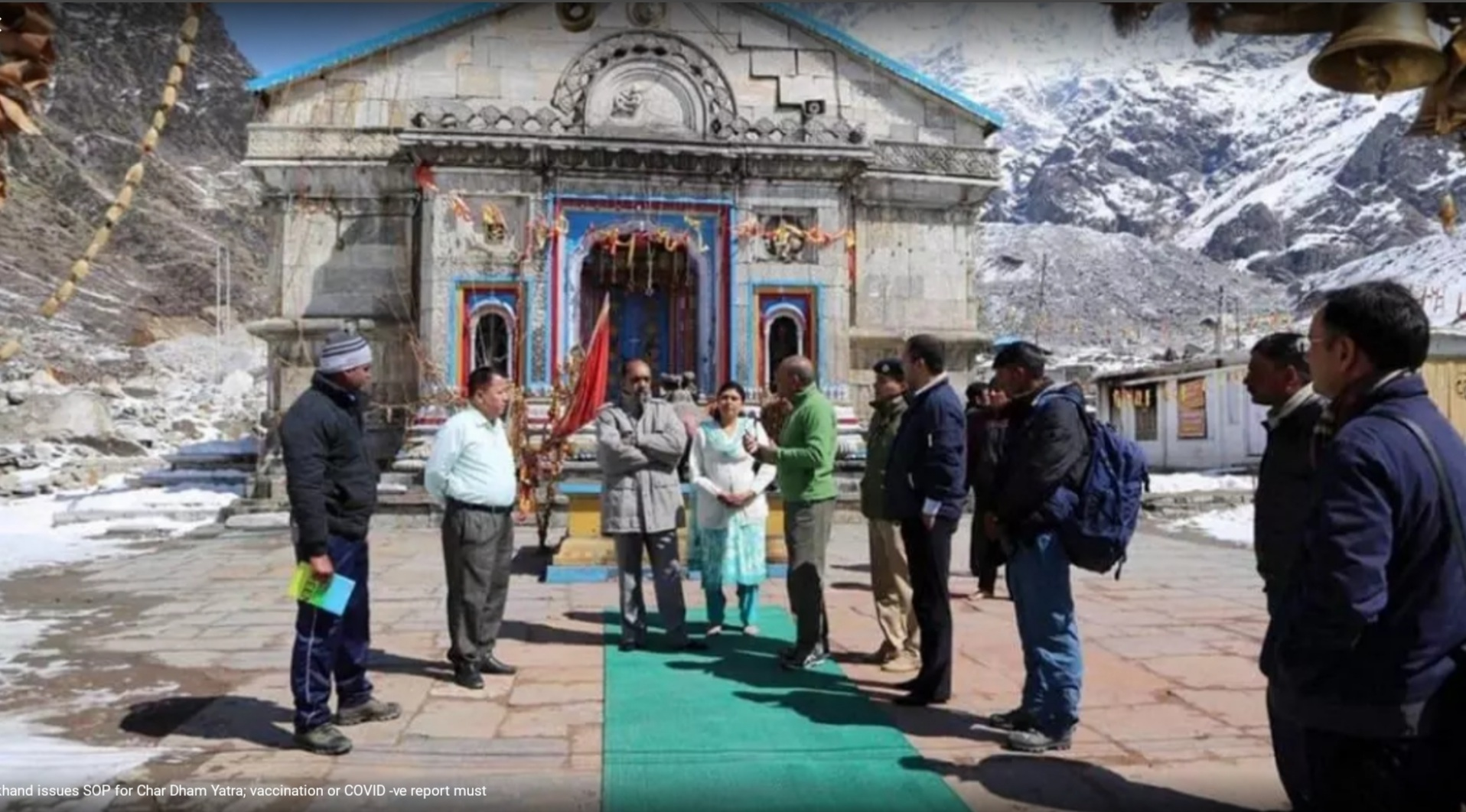 U'khand issues SOP for Char Dham Yatra; vaccination or COVID -ve report must