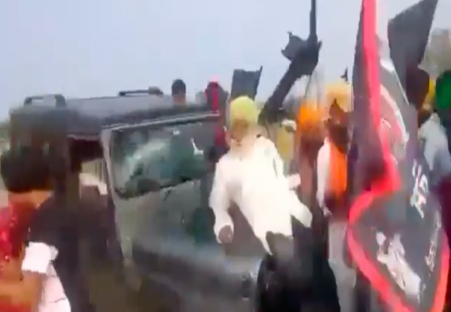 """""""Crystal Clear"""": BJP MP calls for """"accountability"""" as new Clip shows farmers run over"""