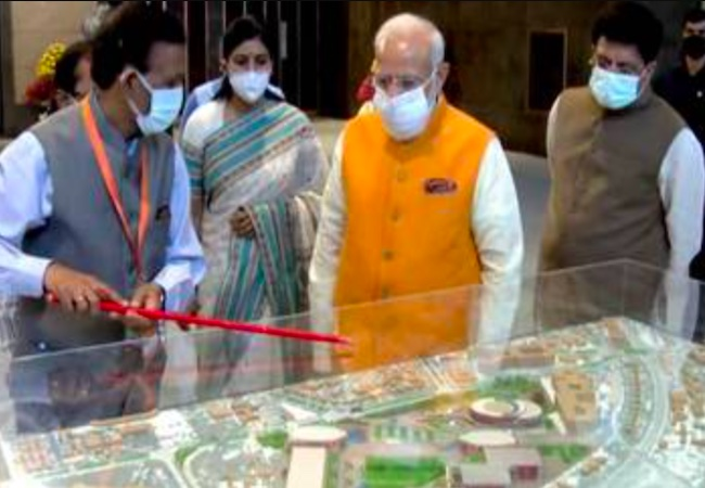 PM Modi launches₹100 lakh cr National Master plan to boost economy