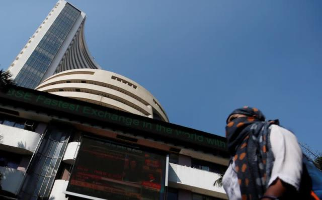 Indian shares hit record highs as Tata Motors climbs on EV plans